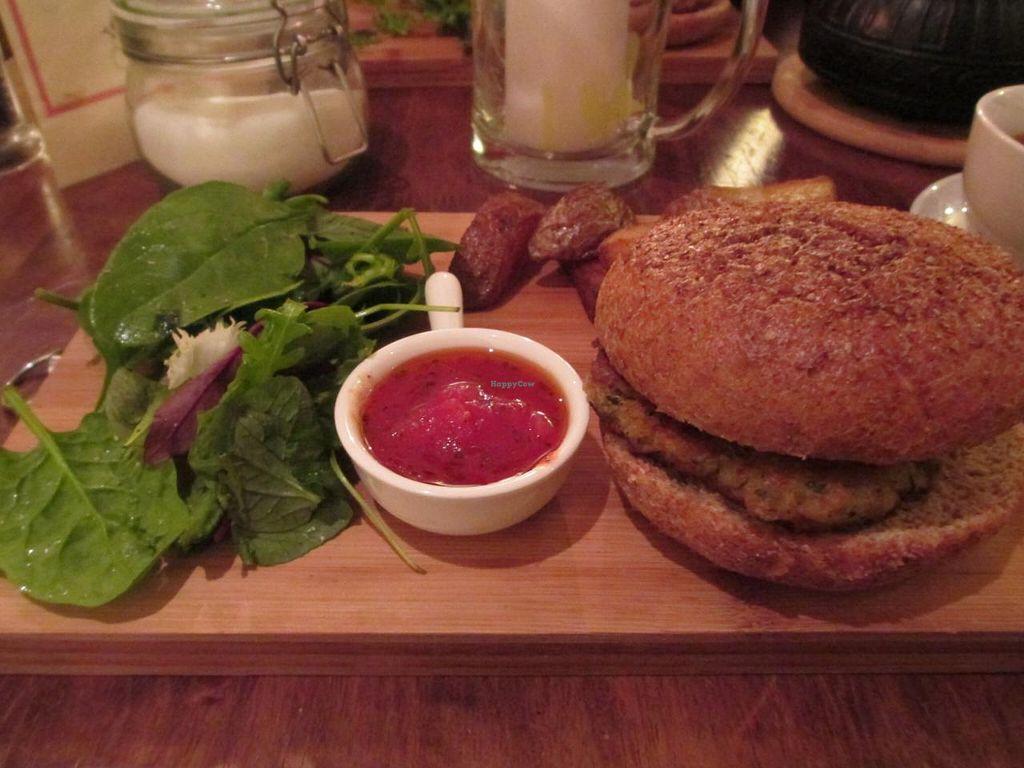 "Photo of CLOSED: Naturalis  by <a href=""/members/profile/Joyatri"">Joyatri</a> <br/>Vegan burger <br/> January 1, 2014  - <a href='/contact/abuse/image/40949/61500'>Report</a>"