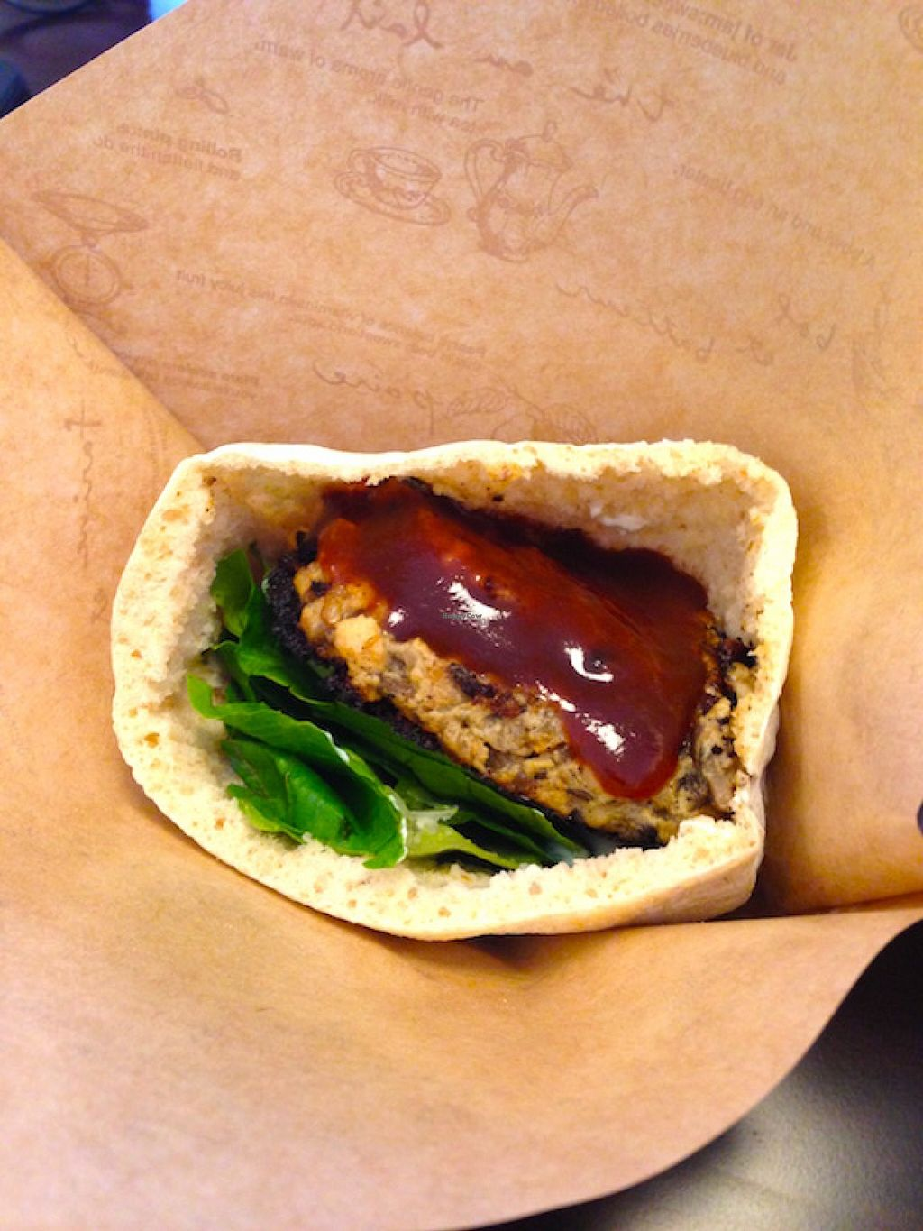 "Photo of Veggie Cafe  by <a href=""/members/profile/jeedeecee"">jeedeecee</a> <br/>Close up of the burger with an excellent miso paste.  <br/> August 29, 2015  - <a href='/contact/abuse/image/40954/115606'>Report</a>"
