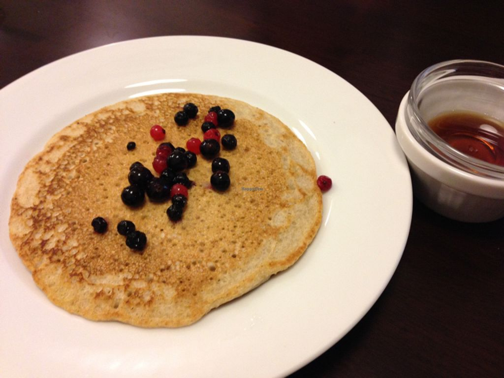 "Photo of Veggie Cafe  by <a href=""/members/profile/lemurcat"">lemurcat</a> <br/>buckwheat pancake  <br/> May 12, 2016  - <a href='/contact/abuse/image/40954/148616'>Report</a>"