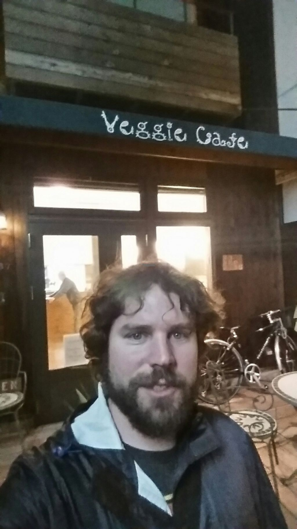 "Photo of Veggie Cafe  by <a href=""/members/profile/Veganaut"">Veganaut</a> <br/>Outside <br/> November 25, 2016  - <a href='/contact/abuse/image/40954/194111'>Report</a>"