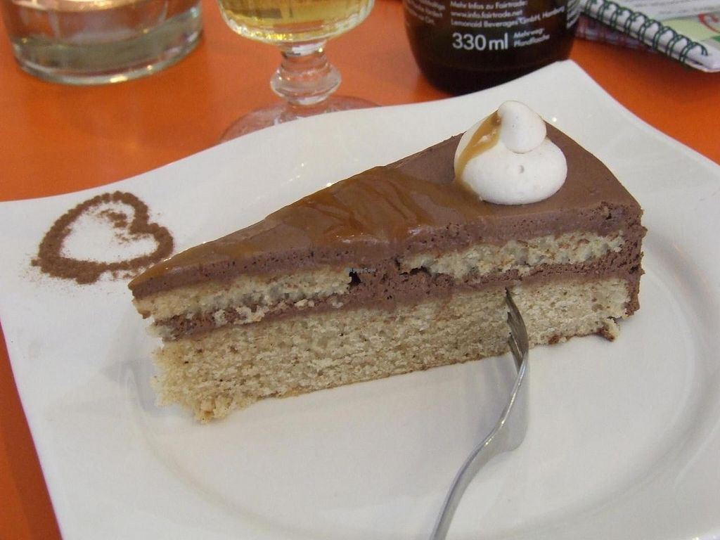 """Photo of Cafe Gleichklang  by <a href=""""/members/profile/v_mdj"""">v_mdj</a> <br/>Choco toffee cake <br/> October 4, 2014  - <a href='/contact/abuse/image/40973/82128'>Report</a>"""