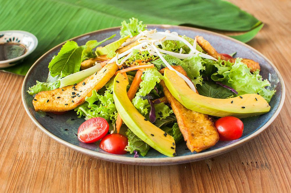 "Photo of Zenith Yoga Cafe  by <a href=""/members/profile/Zenith%20Yoga%20Vietnam"">Zenith Yoga Vietnam</a> <br/>Zenith's Vietnamese Fusion Salad <br/> September 15, 2016  - <a href='/contact/abuse/image/41001/175812'>Report</a>"
