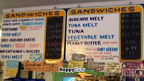 """Photo of Good Food Conspiracy  by <a href=""""/members/profile/happycowgirl"""">happycowgirl</a> <br/>sandwich board <br/> December 23, 2013  - <a href='/contact/abuse/image/41049/60808'>Report</a>"""