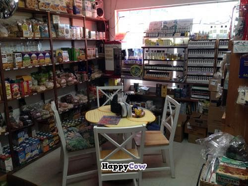 """Photo of Good Food Conspiracy  by <a href=""""/members/profile/happycowgirl"""">happycowgirl</a> <br/>inside seating <br/> December 23, 2013  - <a href='/contact/abuse/image/41049/60810'>Report</a>"""