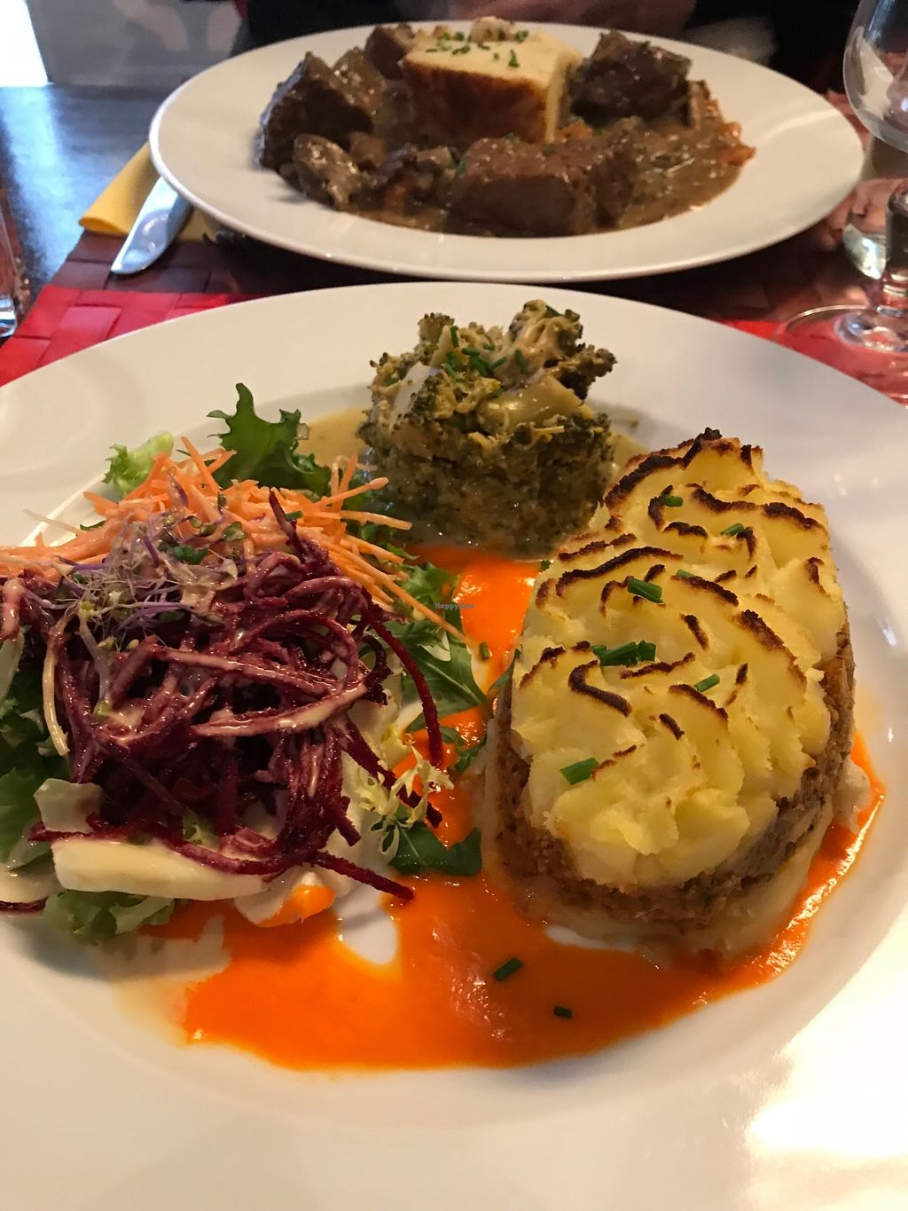"""Photo of Le Potager du Marais  by <a href=""""/members/profile/TARAMCDONALD"""">TARAMCDONALD</a> <br/>Incredible traditional French cuisine & it's vegan ? <br/> December 30, 2017  - <a href='/contact/abuse/image/4106/341102'>Report</a>"""