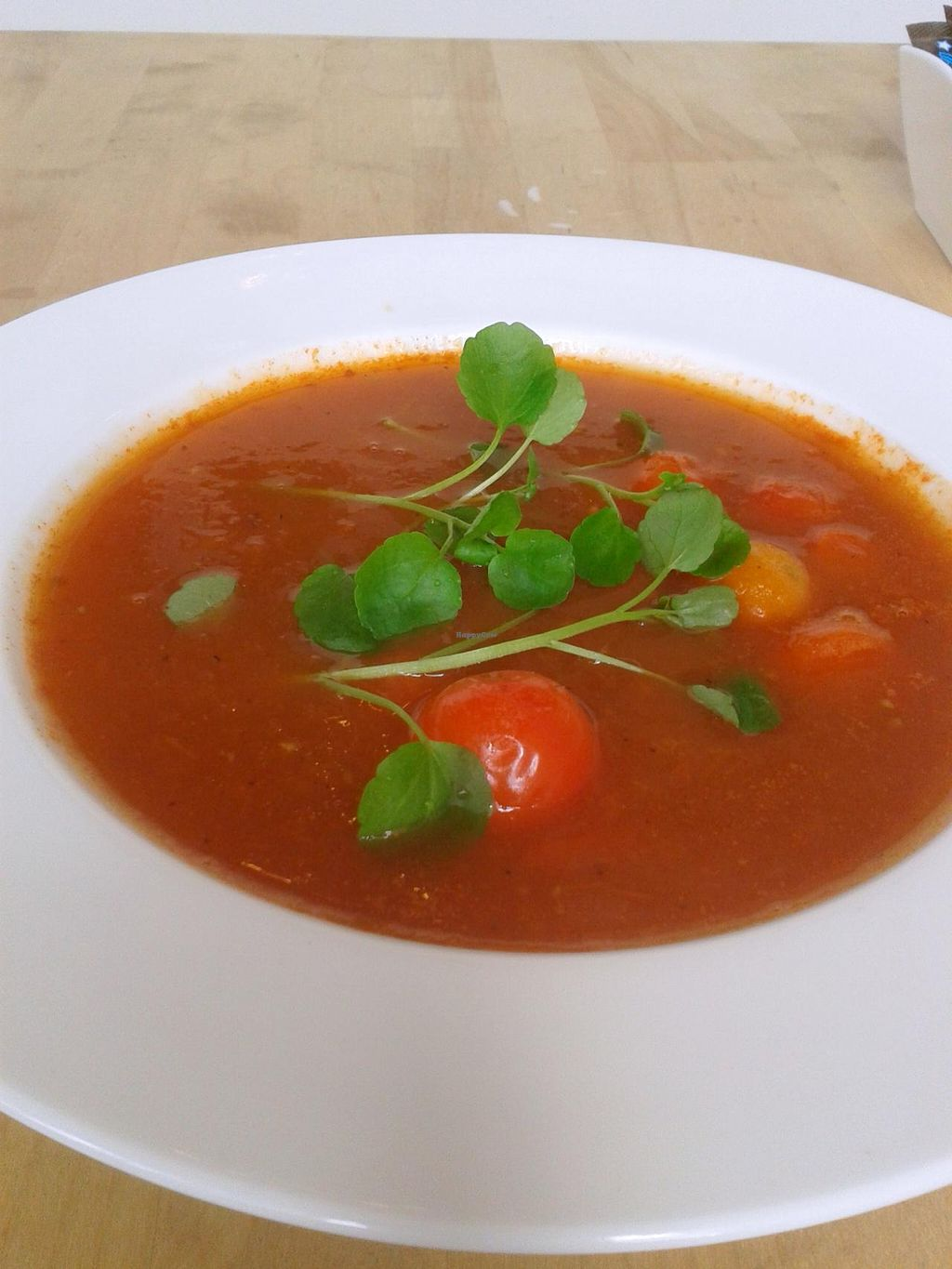 """Photo of Kava  by <a href=""""/members/profile/KavaKafe"""">KavaKafe</a> <br/>Fragrant Tomato Soup <br/> April 20, 2014  - <a href='/contact/abuse/image/41090/68042'>Report</a>"""