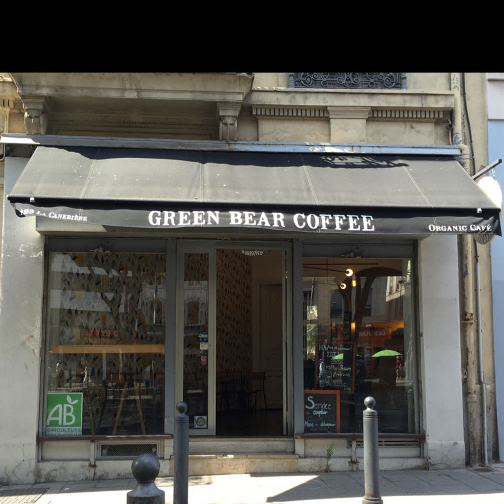 """Photo of Green Bear Coffee - La Canebiere  by <a href=""""/members/profile/Chris_D"""">Chris_D</a> <br/>Shopfront <br/> August 4, 2016  - <a href='/contact/abuse/image/41101/165371'>Report</a>"""