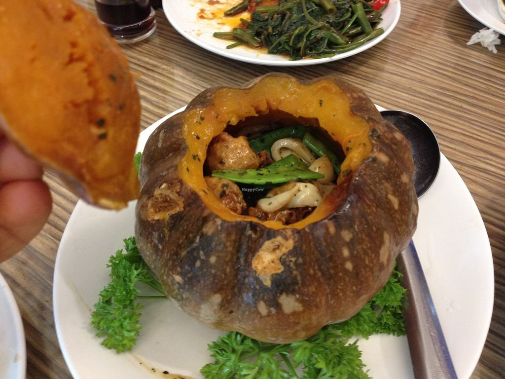 Photo of Yuet Sum Hin  by Maryline <br/>Surprise pumpkin ! mmmmm delicious ! <br/> January 15, 2016  - <a href='/contact/abuse/image/41111/132447'>Report</a>
