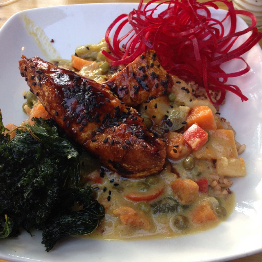 """Photo of Lola Rosa - Milton  by <a href=""""/members/profile/nardanddee"""">nardanddee</a> <br/>curry veggies and tempeh <br/> August 31, 2015  - <a href='/contact/abuse/image/4117/115891'>Report</a>"""