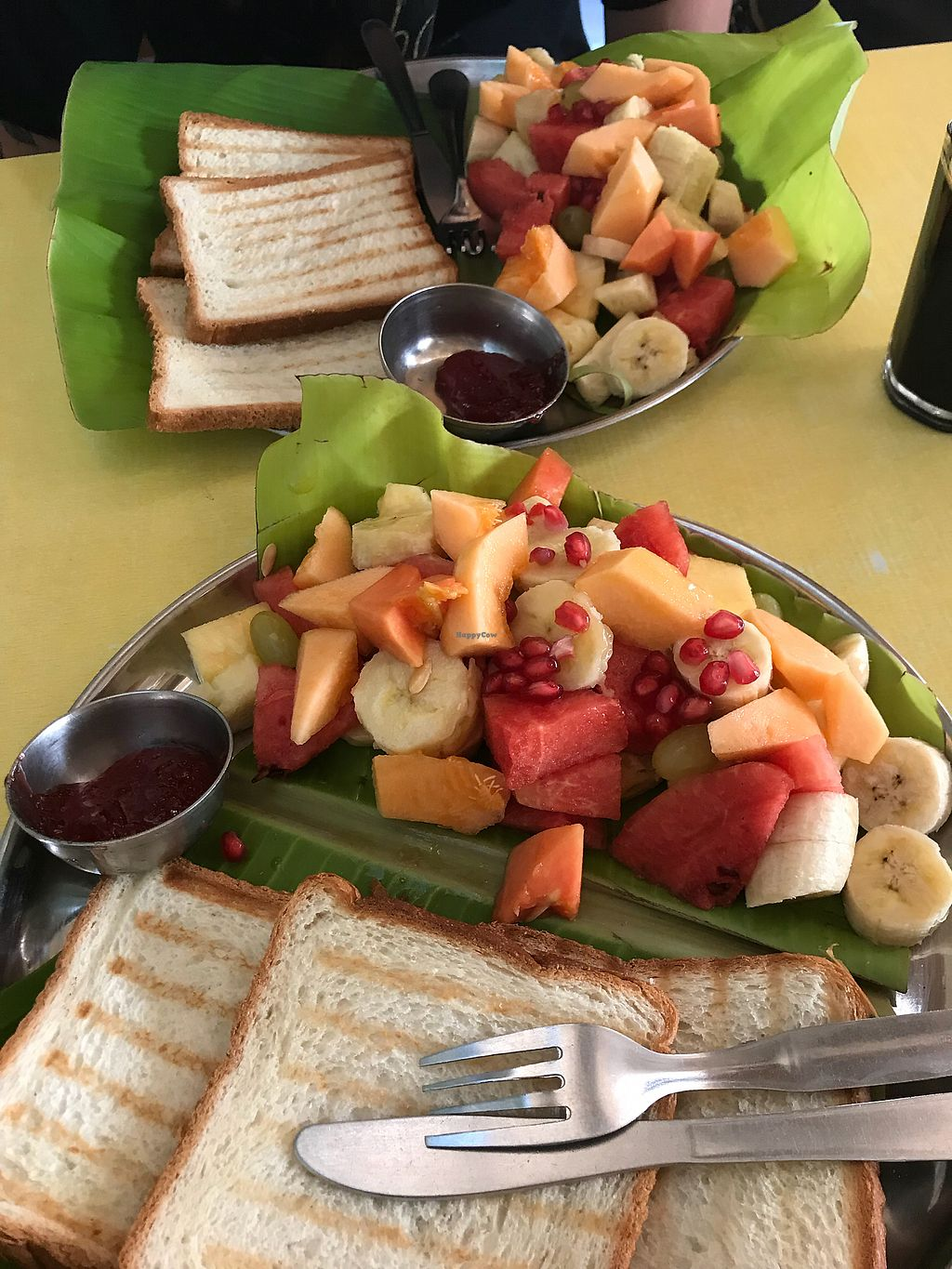 "Photo of Mango Tree  by <a href=""/members/profile/Shannybadds"">Shannybadds</a> <br/>Spanish Breakfast - no eggs & extra fruit  <br/> March 25, 2018  - <a href='/contact/abuse/image/41182/375722'>Report</a>"