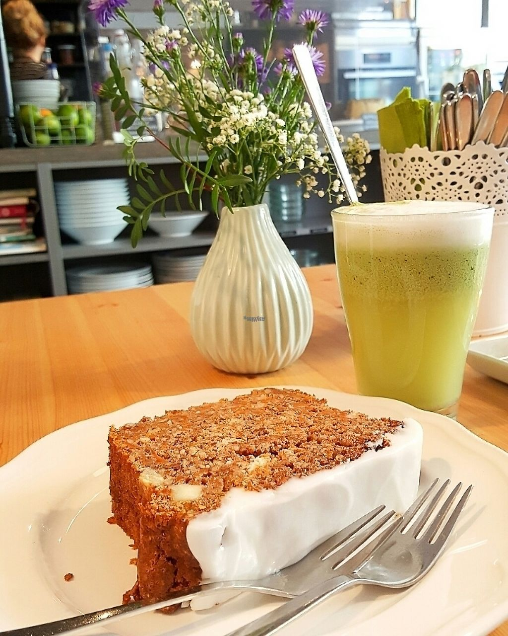 """Photo of HappenPappen  by <a href=""""/members/profile/veganverayo"""">veganverayo</a> <br/>We loved this juicy carrot cake! <br/> February 18, 2017  - <a href='/contact/abuse/image/41221/227962'>Report</a>"""