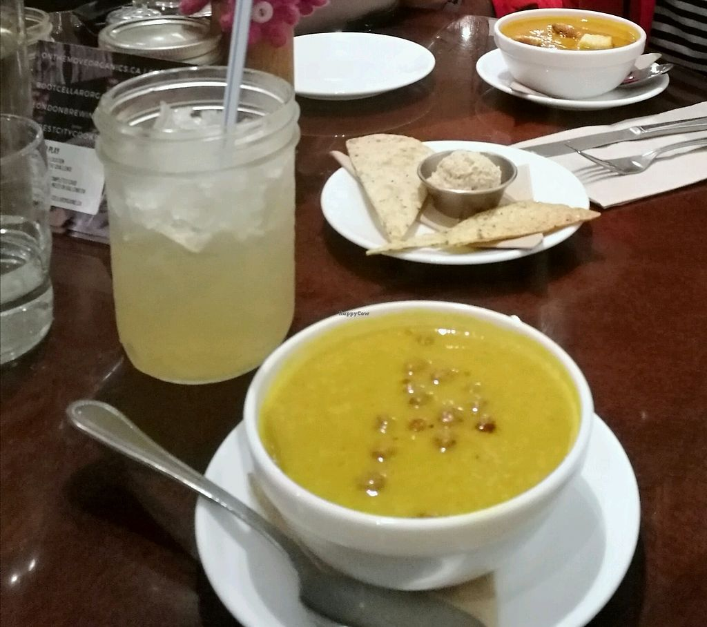 """Photo of The Root Cellar  by <a href=""""/members/profile/akita"""">akita</a> <br/>chickpea soup <br/> October 18, 2017  - <a href='/contact/abuse/image/41262/316342'>Report</a>"""