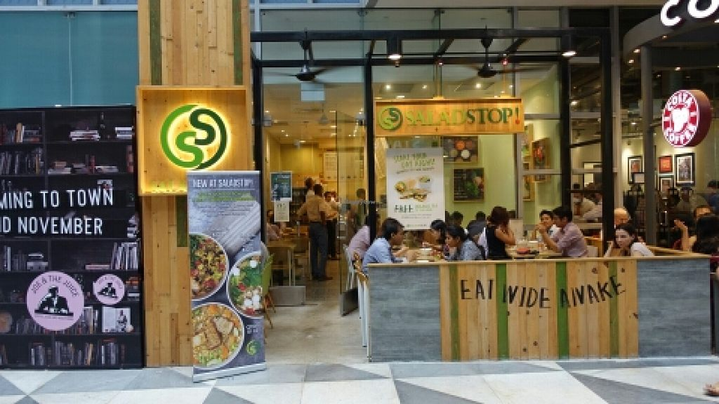 """Photo of SaladStop - Chevron House  by <a href=""""/members/profile/JimmySeah"""">JimmySeah</a> <br/>shop front  <br/> October 27, 2015  - <a href='/contact/abuse/image/41277/122861'>Report</a>"""