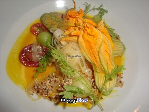 """Photo of CLOSED: Pure Food and Wine  by <a href=""""/members/profile/Sonja%20and%20Dirk"""">Sonja and Dirk</a> <br/>zucchini blossoms <br/> July 21, 2013  - <a href='/contact/abuse/image/4127/51849'>Report</a>"""
