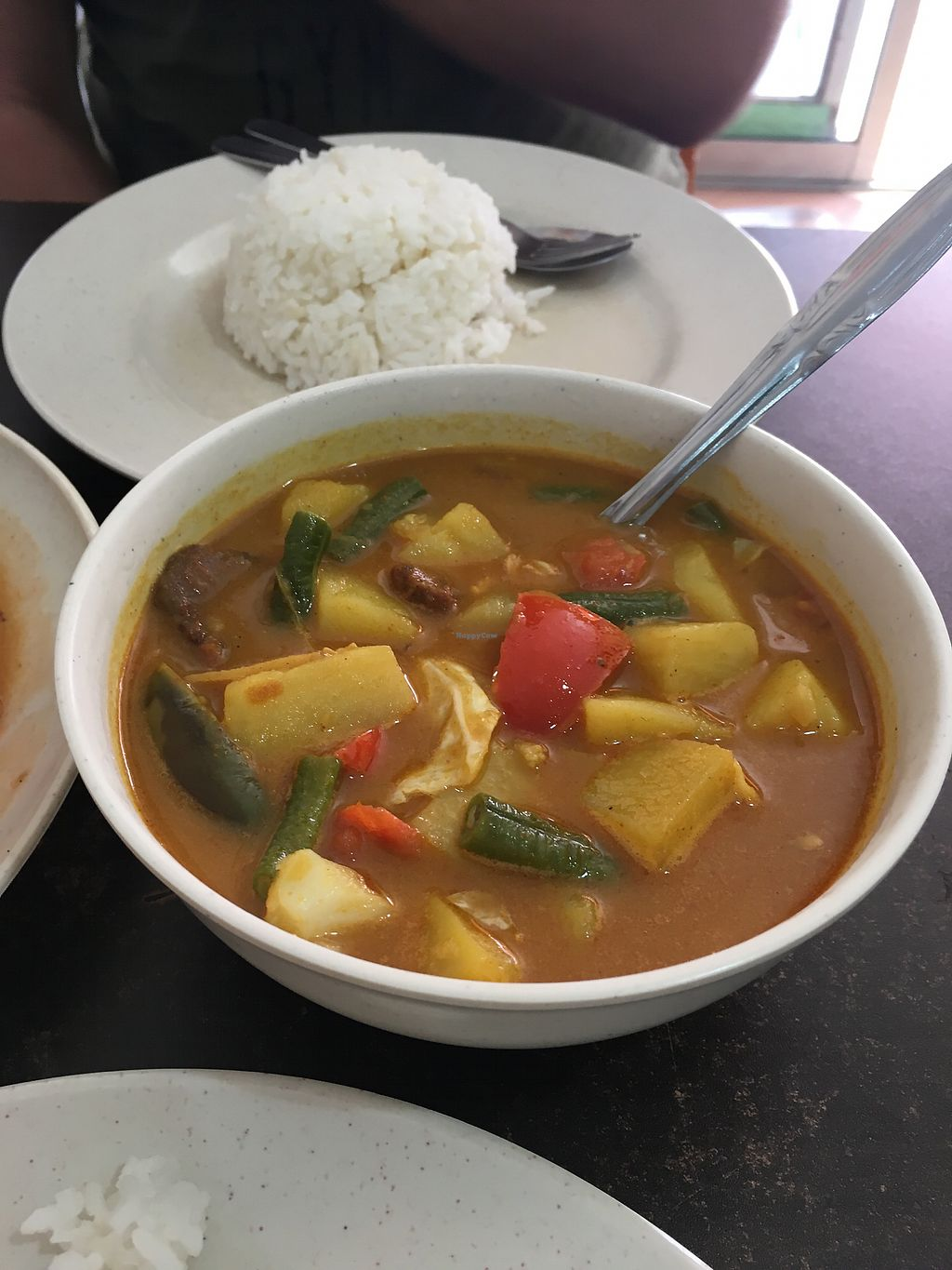 """Photo of Vege Garden  by <a href=""""/members/profile/Spaghetti_monster"""">Spaghetti_monster</a> <br/>Potato and vegetable curry (vegan, no milk) <br/> April 16, 2018  - <a href='/contact/abuse/image/41311/386661'>Report</a>"""
