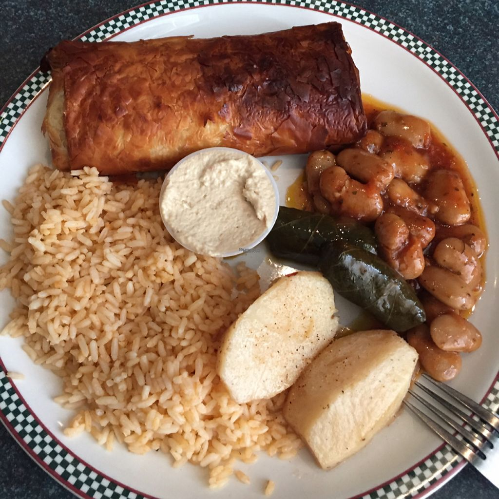 """Photo of It's All Greek to Me  by <a href=""""/members/profile/ScottElswick"""">ScottElswick</a> <br/>vegan platter  <br/> March 23, 2017  - <a href='/contact/abuse/image/41316/239642'>Report</a>"""