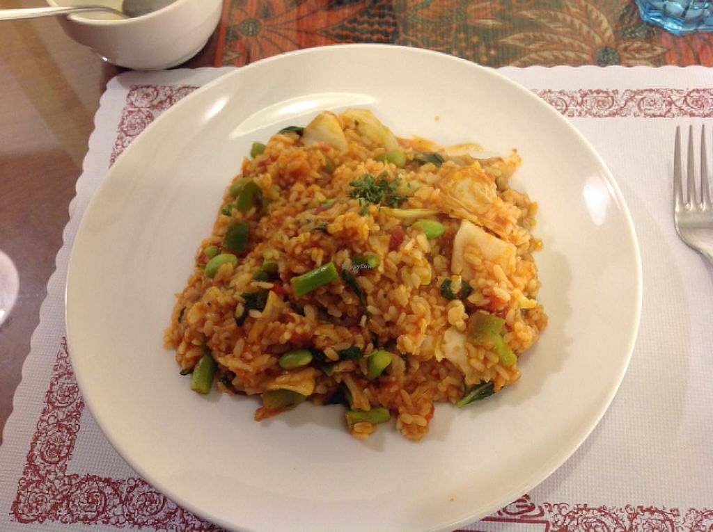 """Photo of Kapok Vegetarian Cafe  by <a href=""""/members/profile/Lbeboipinoy"""">Lbeboipinoy</a> <br/>risotto  <br/> March 16, 2014  - <a href='/contact/abuse/image/41327/66045'>Report</a>"""