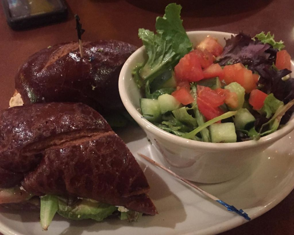 "Photo of Flying Star - Central Ave SE  by <a href=""/members/profile/nc71087n"">nc71087n</a> <br/>Stuffed veggie sub w/ a side salad  <br/> January 4, 2015  - <a href='/contact/abuse/image/41358/209150'>Report</a>"
