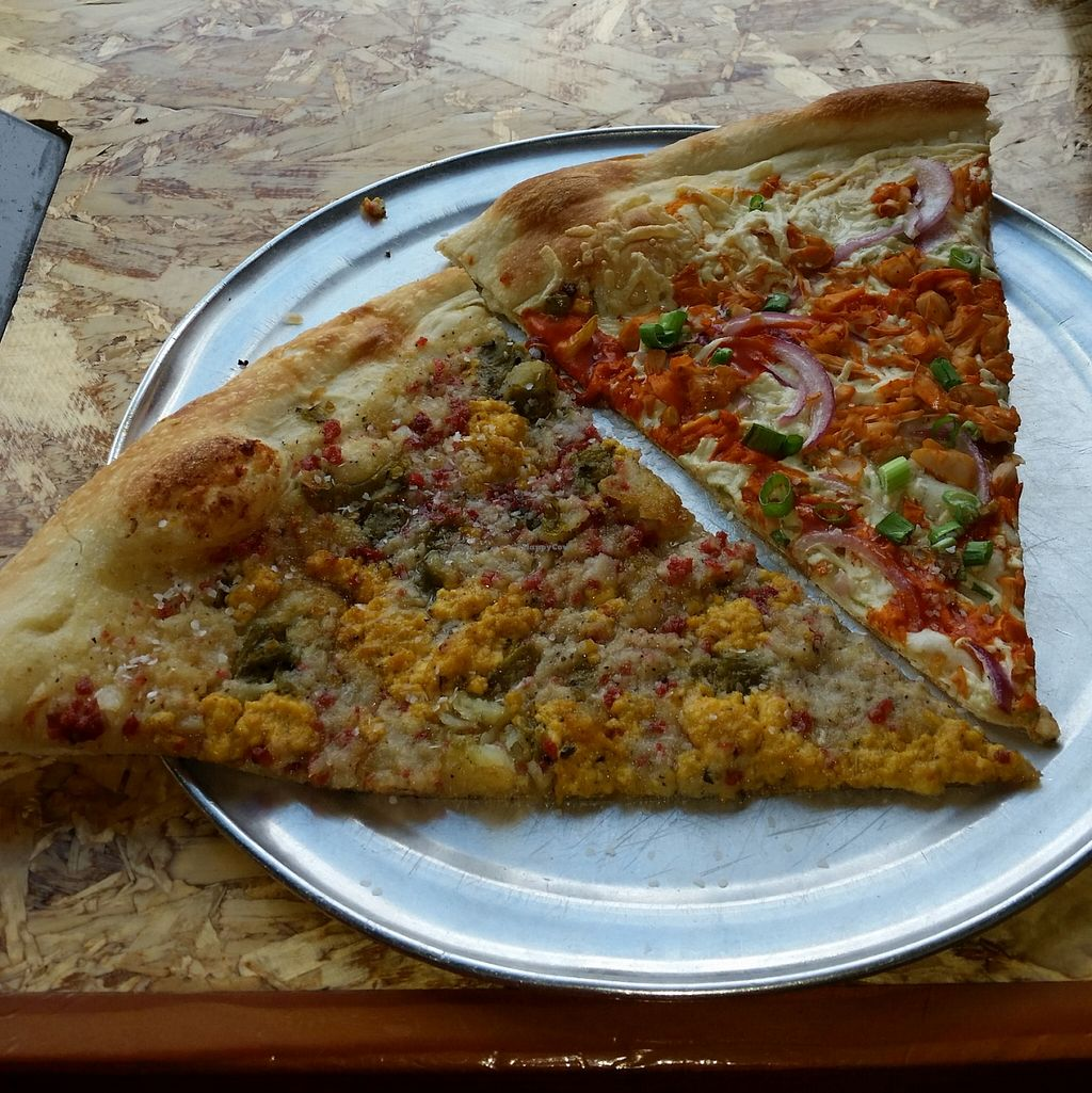 """Photo of Sizzle Pie  by <a href=""""/members/profile/warmstorage"""">warmstorage</a> <br/>The Buffalo 666, and some other slice.  <br/> March 12, 2016  - <a href='/contact/abuse/image/41378/139715'>Report</a>"""