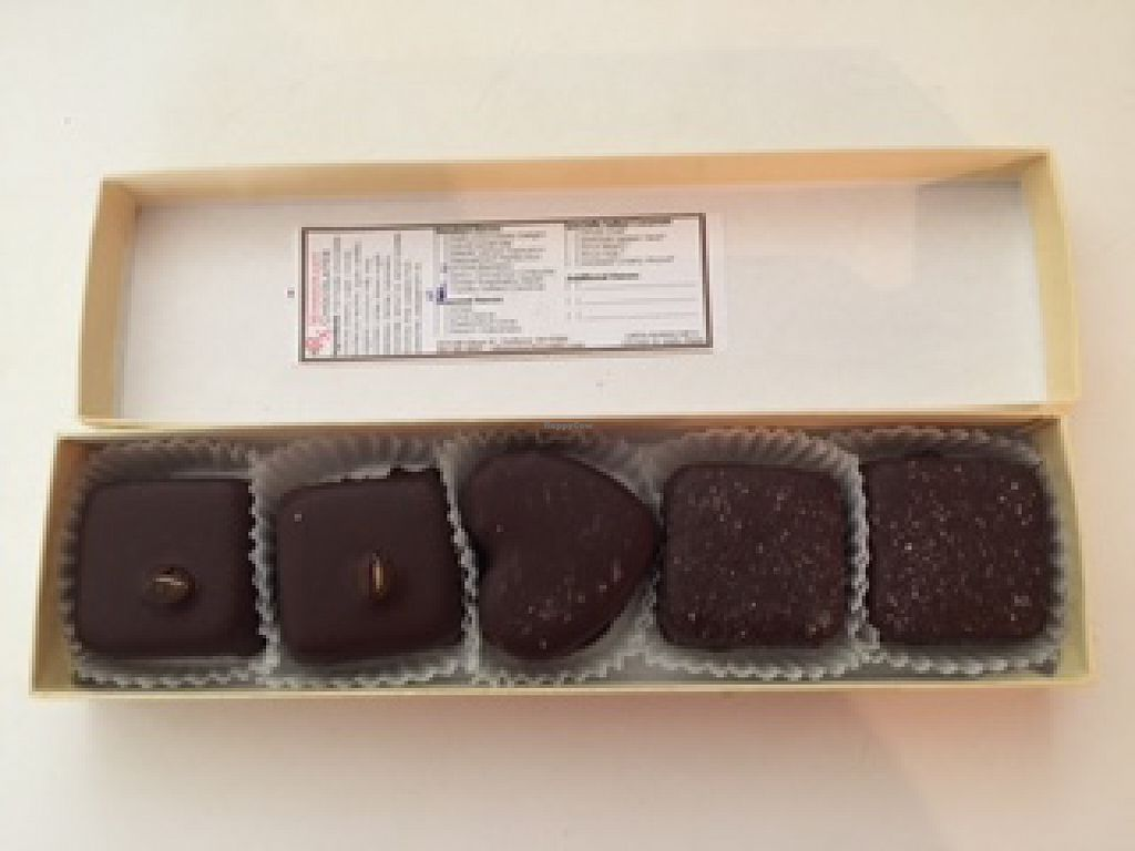 "Photo of Missionary Chocolates  by <a href=""/members/profile/LadyVolsFreakDeb"">LadyVolsFreakDeb</a> <br/>Five piece truffle box - opened! <br/> September 26, 2015  - <a href='/contact/abuse/image/41439/119192'>Report</a>"