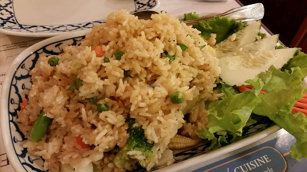 "Photo of Thailand Cuisine  by <a href=""/members/profile/eric"">eric</a> <br/>veggie fried rice <br/> August 9, 2017  - <a href='/contact/abuse/image/41444/290677'>Report</a>"