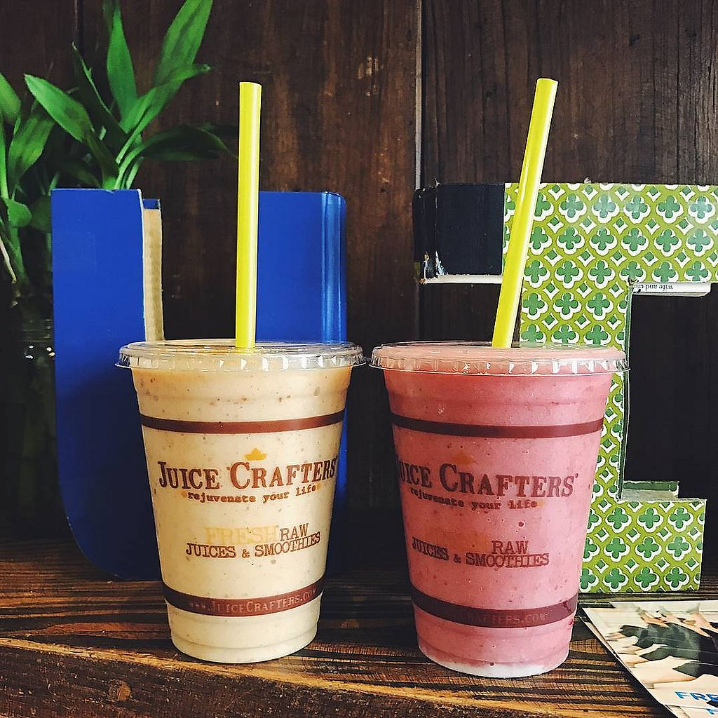 """Photo of Juice Crafters  by <a href=""""/members/profile/JuiceCrafters"""">JuiceCrafters</a> <br/>FRESH RAW SMOOTHIES <br/> January 9, 2018  - <a href='/contact/abuse/image/41449/344755'>Report</a>"""