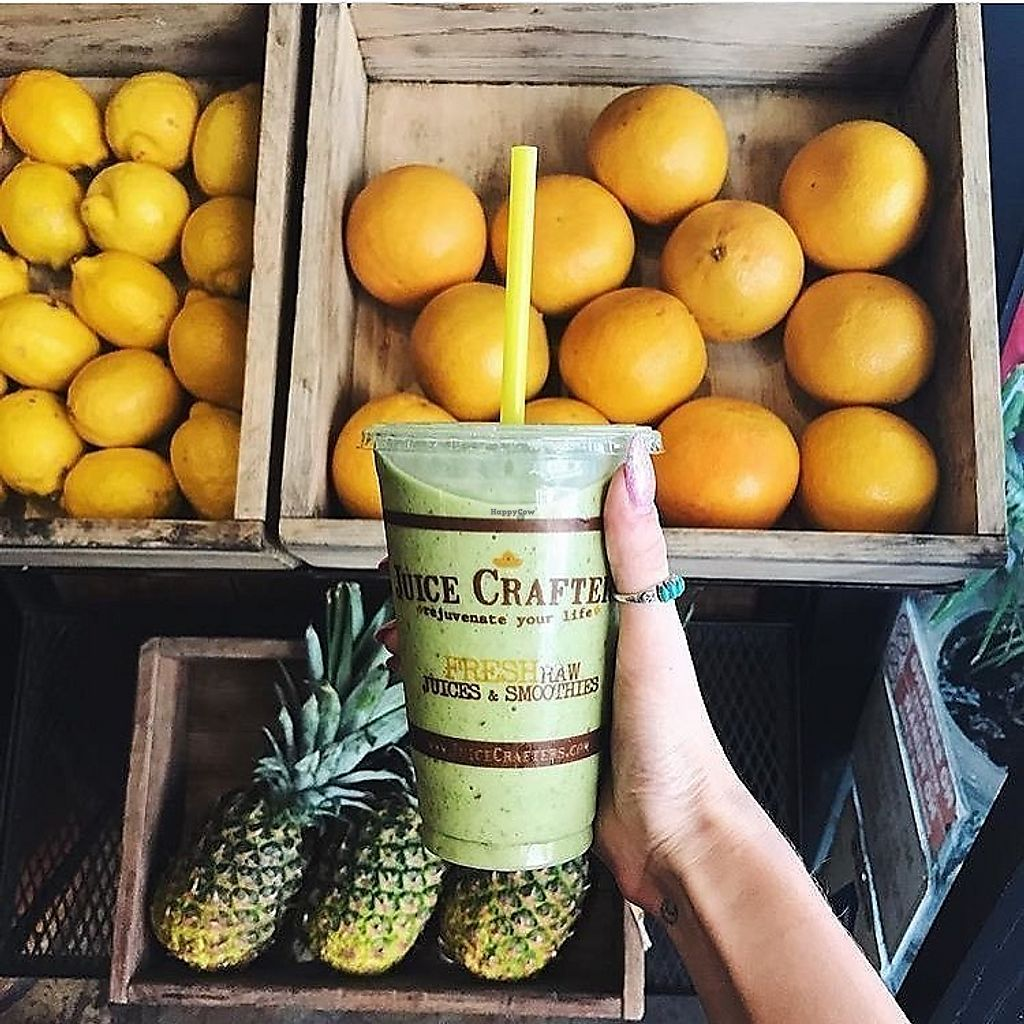 """Photo of Juice Crafters  by <a href=""""/members/profile/JuiceCrafters"""">JuiceCrafters</a> <br/>SILVER CUP – almond milk, coconut H2O, kale, dates, banana & walnuts <br/> December 10, 2017  - <a href='/contact/abuse/image/41450/334177'>Report</a>"""