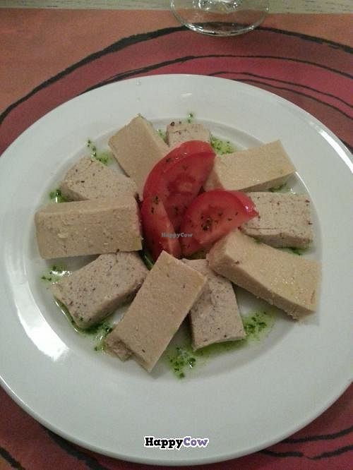 """Photo of Vita Viridis Restaurant  by <a href=""""/members/profile/Harp"""">Harp</a> <br/>Vegan cheese <br/> October 16, 2013  - <a href='/contact/abuse/image/41476/56789'>Report</a>"""
