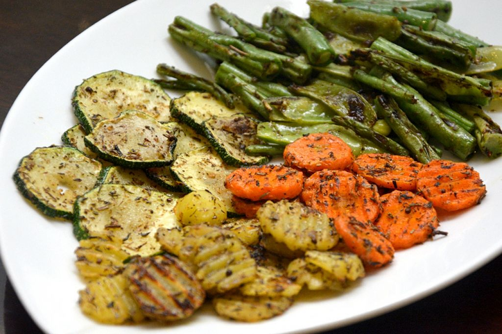 """Photo of Live Life Vegetarian Food  by <a href=""""/members/profile/konserns"""">konserns</a> <br/>Grilled veggies salad <br/> May 22, 2016  - <a href='/contact/abuse/image/41513/150376'>Report</a>"""