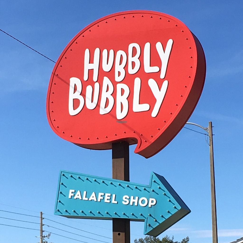 """Photo of Hubbly Bubbly Falafel Shop  by <a href=""""/members/profile/KWdaddio"""">KWdaddio</a> <br/>exterior sign <br/> December 31, 2016  - <a href='/contact/abuse/image/41515/206593'>Report</a>"""