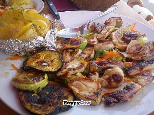 """Photo of El Ventorillero  by <a href=""""/members/profile/MartinaPiantina"""">MartinaPiantina</a> <br/>Grilled mushrooms and veggies  <br/> November 6, 2013  - <a href='/contact/abuse/image/41560/57997'>Report</a>"""