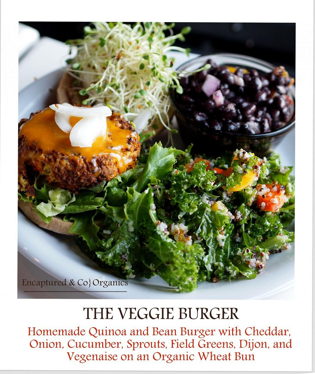 """Photo of Sprouts Cafe  by <a href=""""/members/profile/TammyCantrell"""">TammyCantrell</a> <br/>Sprouts Veggie Burger!  <br/> May 23, 2014  - <a href='/contact/abuse/image/41561/70556'>Report</a>"""