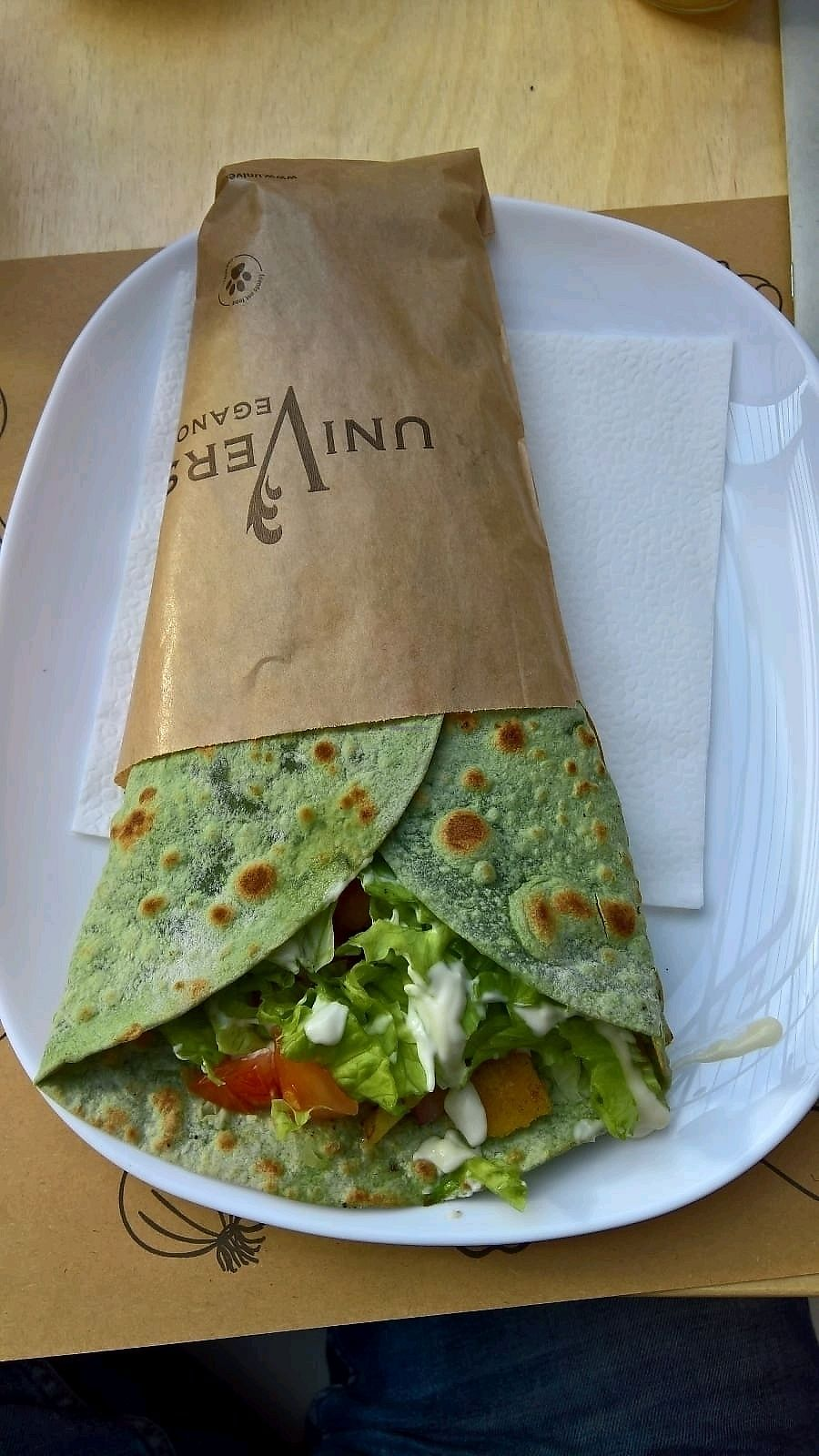 """Photo of Universo Vegano  by <a href=""""/members/profile/mostlyvegan75"""">mostlyvegan75</a> <br/>Lupine wrap <br/> January 4, 2018  - <a href='/contact/abuse/image/41569/342926'>Report</a>"""