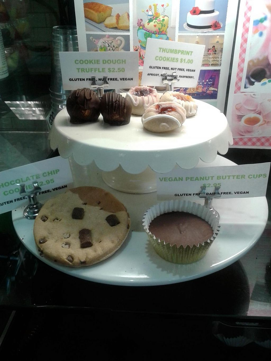 "Photo of Green Tomato Grill  by <a href=""/members/profile/chobesoy"">chobesoy</a> <br/>vegan selection plus brownies <br/> November 20, 2014  - <a href='/contact/abuse/image/41587/86113'>Report</a>"