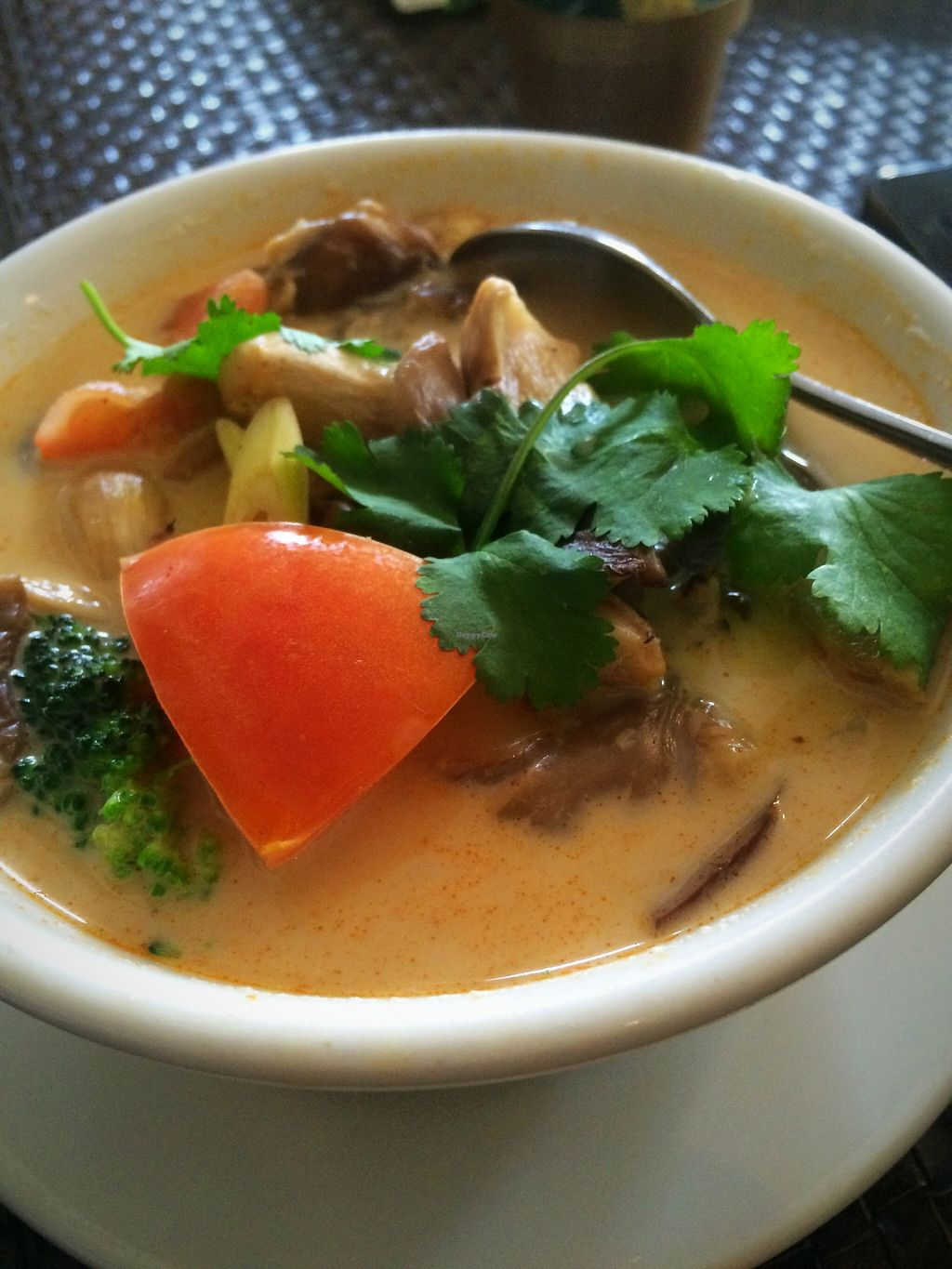"""Photo of Veggie House  by <a href=""""/members/profile/serrarose"""">serrarose</a> <br/>Delicious Tom Kha Soup <br/> December 27, 2015  - <a href='/contact/abuse/image/41594/130032'>Report</a>"""