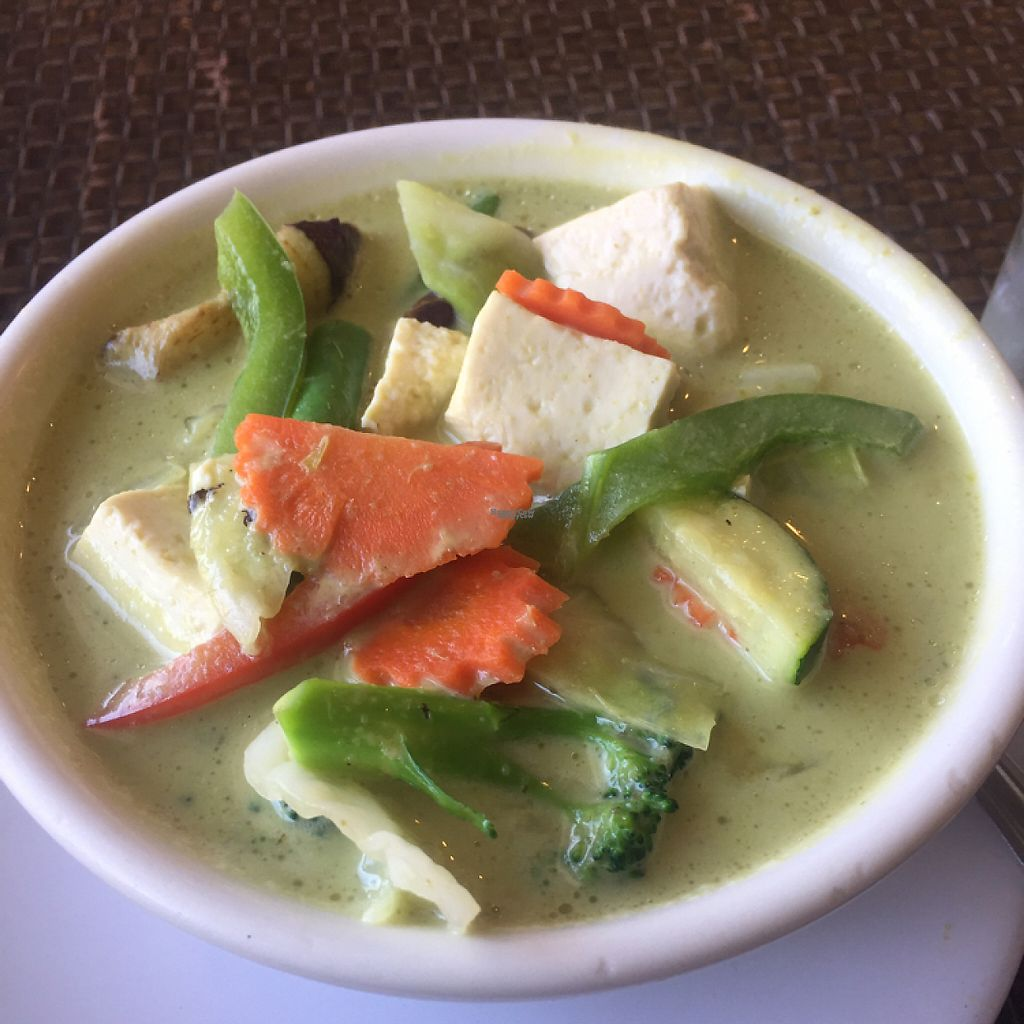 """Photo of Veggie House  by <a href=""""/members/profile/LinnDaugherty"""">LinnDaugherty</a> <br/>green curry <br/> March 3, 2017  - <a href='/contact/abuse/image/41594/231967'>Report</a>"""