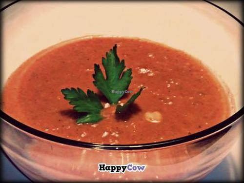 """Photo of Nourished On The Go  by <a href=""""/members/profile/Chef%20Gabriella"""">Chef Gabriella</a> <br/>Tomato Peanut Soup <br/> September 24, 2013  - <a href='/contact/abuse/image/41600/55643'>Report</a>"""
