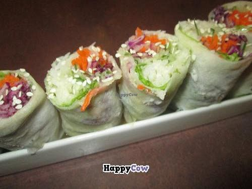 """Photo of Idealite - Jalan Gottlieb  by <a href=""""/members/profile/Fruity%20Suzanne"""">Fruity Suzanne</a> <br/>Popiah sushi rolls <br/> October 15, 2013  - <a href='/contact/abuse/image/41604/56752'>Report</a>"""