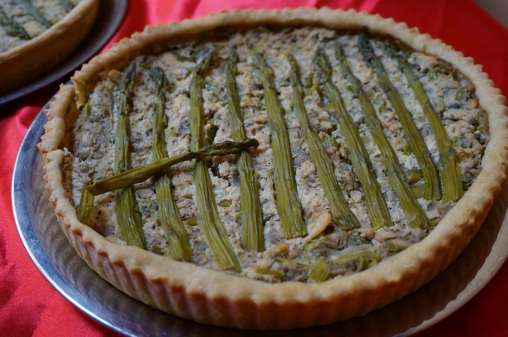 """Photo of Pacchamama  by <a href=""""/members/profile/Ricardo"""">Ricardo</a> <br/>Asparagus quiche (catered) <br/> June 18, 2016  - <a href='/contact/abuse/image/41619/154587'>Report</a>"""