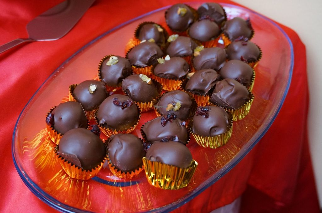 """Photo of Pacchamama  by <a href=""""/members/profile/Ricardo"""">Ricardo</a> <br/>Chocolate Truffles (catered) <br/> June 18, 2016  - <a href='/contact/abuse/image/41619/154588'>Report</a>"""