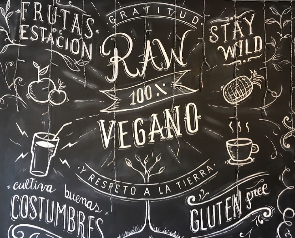 "Photo of Raw Cafe - Independencia  by <a href=""/members/profile/vegancheeks"">vegancheeks</a> <br/>signage <br/> January 10, 2017  - <a href='/contact/abuse/image/41640/210214'>Report</a>"