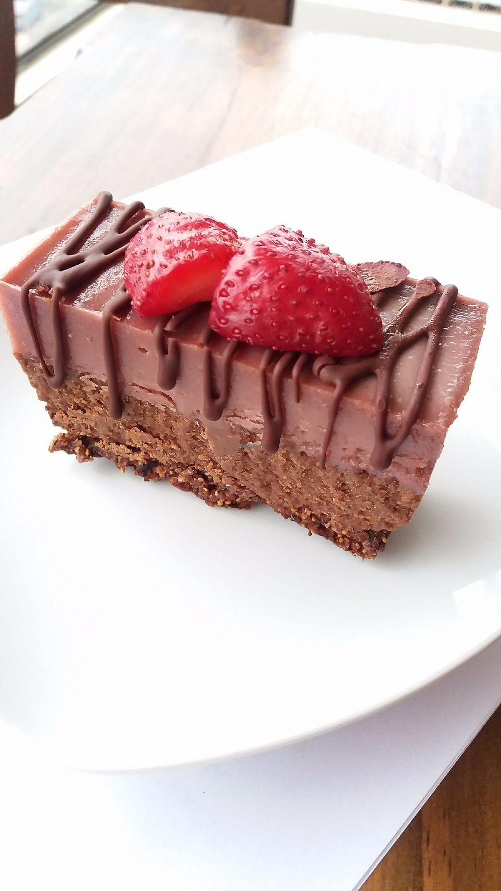"Photo of Raw Cafe - Independencia  by <a href=""/members/profile/Arta"">Arta</a> <br/>Strawberry chocolate cheesecake <br/> March 20, 2017  - <a href='/contact/abuse/image/41640/238901'>Report</a>"