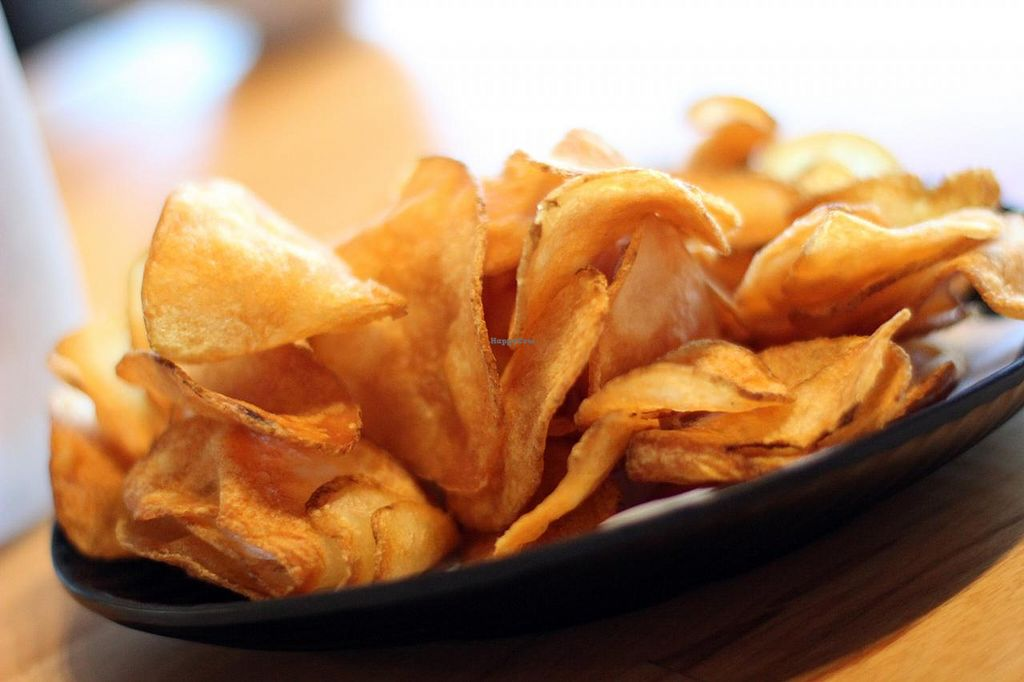 """Photo of My Vegan Gold  by <a href=""""/members/profile/veroaero"""">veroaero</a> <br/>Crispy home made chips. Yum! <br/> November 15, 2014  - <a href='/contact/abuse/image/41660/85653'>Report</a>"""