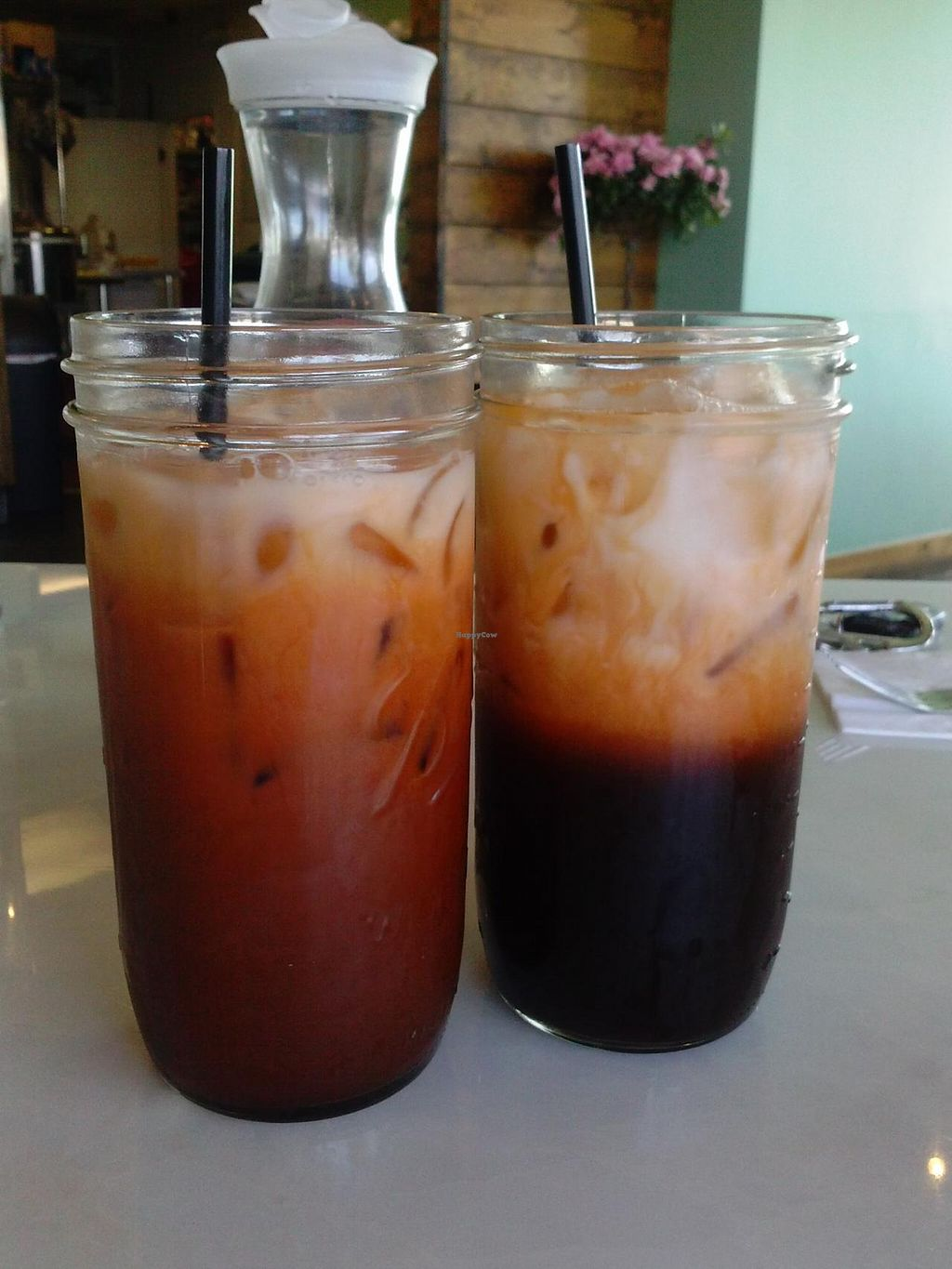 """Photo of My Vegan Gold  by <a href=""""/members/profile/Sonja%20and%20Dirk"""">Sonja and Dirk</a> <br/>Thai iced tea <br/> April 5, 2015  - <a href='/contact/abuse/image/41660/97941'>Report</a>"""