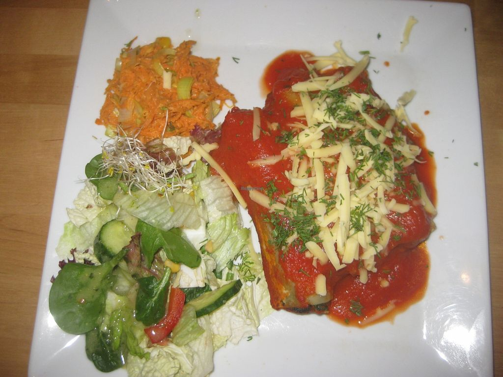 "Photo of Avocado Vegan Bistro - Wajdeloty  by <a href=""/members/profile/jennyc32"">jennyc32</a> <br/>Canneloni <br/> April 9, 2016  - <a href='/contact/abuse/image/41675/143631'>Report</a>"
