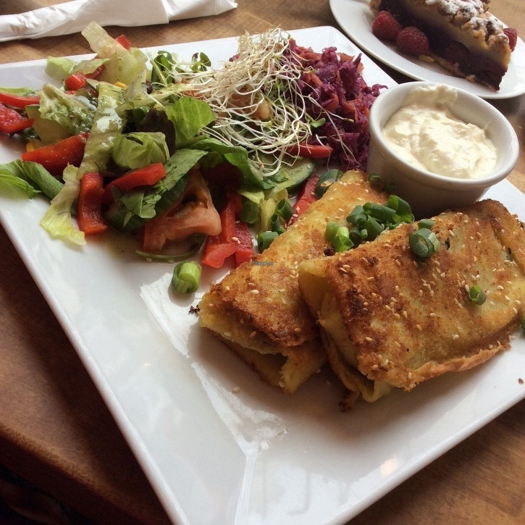 "Photo of Avocado Vegan Bistro - Wajdeloty  by <a href=""/members/profile/AgataAgathe"">AgataAgathe</a> <br/>Croquettes <br/> August 8, 2016  - <a href='/contact/abuse/image/41675/166955'>Report</a>"
