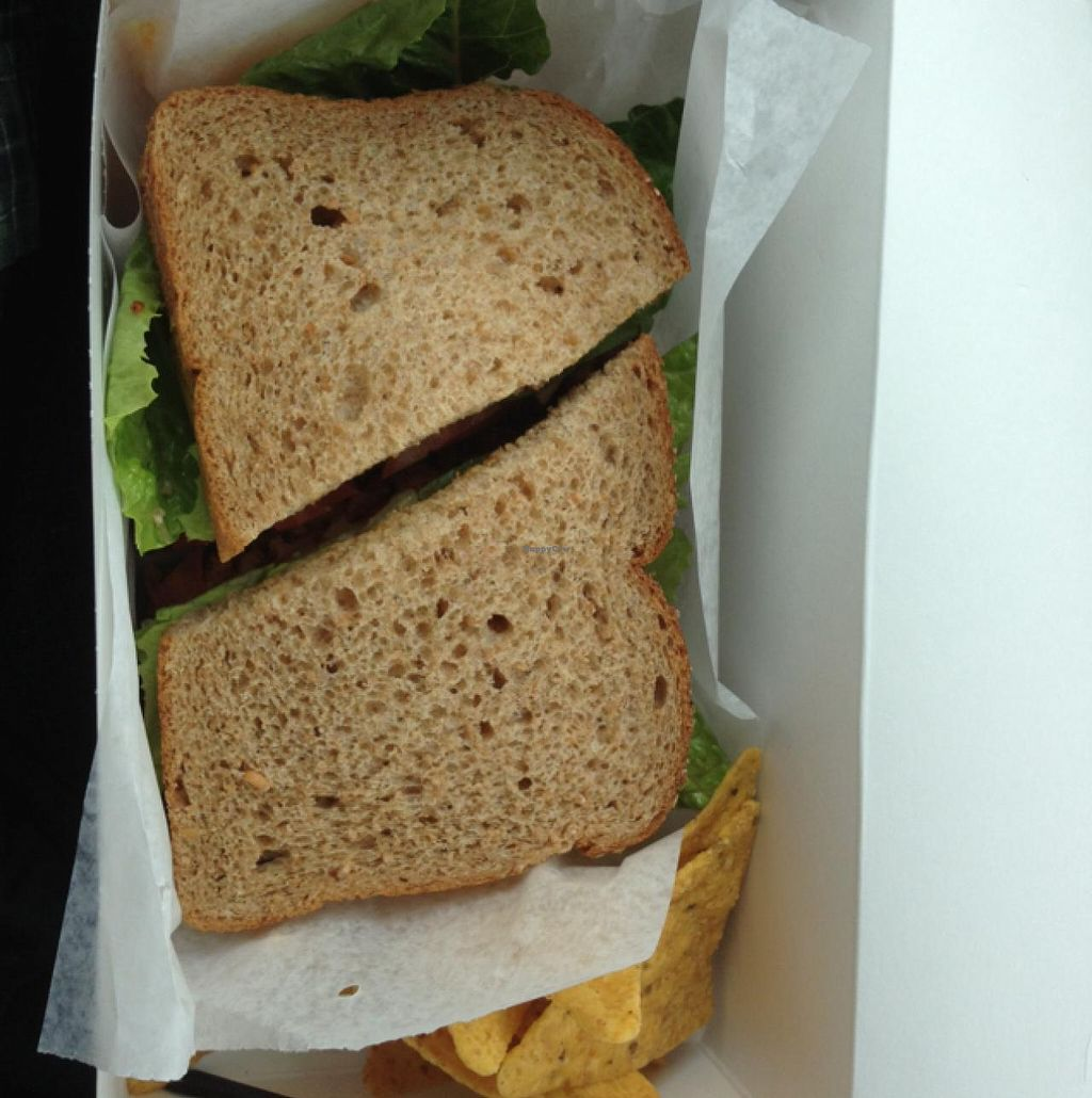 """Photo of Natural Gourmet  by <a href=""""/members/profile/cbednarek"""">cbednarek</a> <br/>Vegan BBQ sandwich lunch box <br/> March 14, 2014  - <a href='/contact/abuse/image/4167/65913'>Report</a>"""