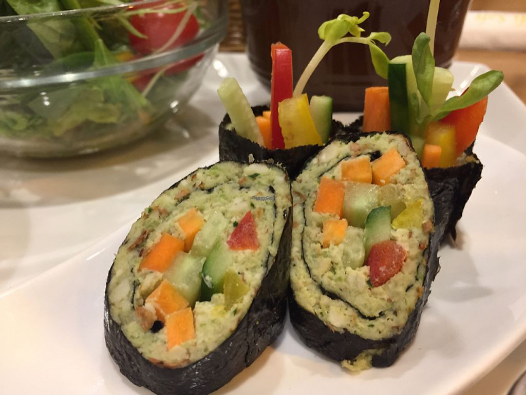 "Photo of Raw Food Lohas  by <a href=""/members/profile/jpoukka"">jpoukka</a> <br/>Nut and Veggie Sushi Roll <br/> February 10, 2017  - <a href='/contact/abuse/image/41685/224959'>Report</a>"