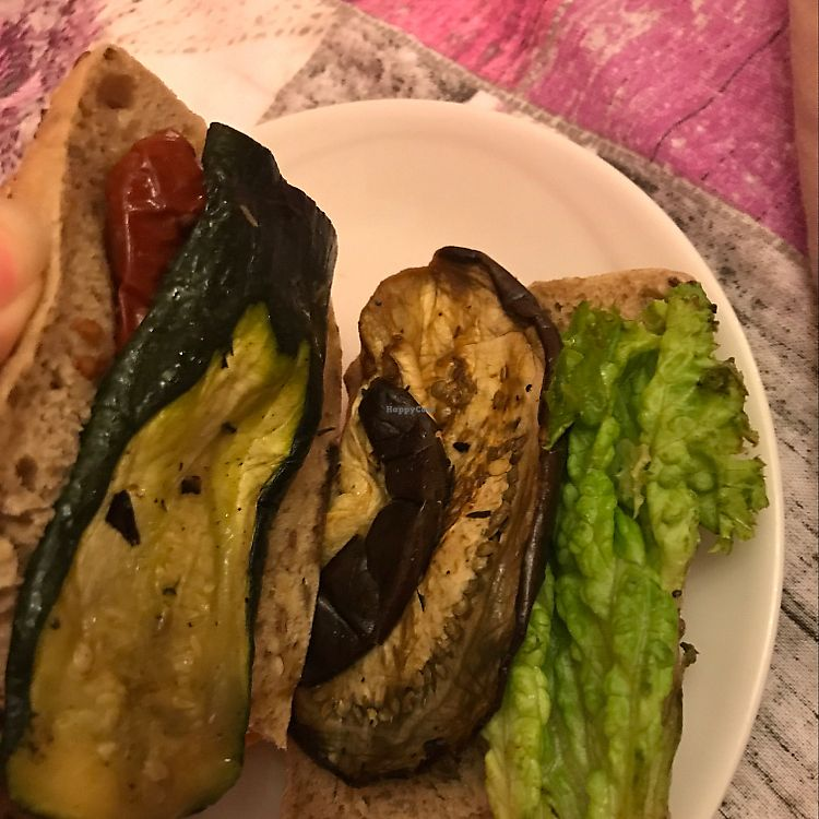 """Photo of Chef Express  by <a href=""""/members/profile/Soysoja"""">Soysoja</a> <br/>this is their sandwich vegano.  <br/> June 11, 2017  - <a href='/contact/abuse/image/41693/268156'>Report</a>"""