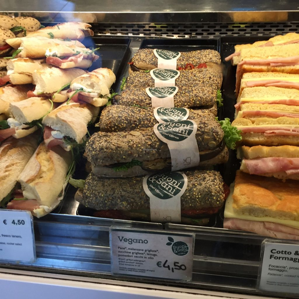 """Photo of Chef Express  by <a href=""""/members/profile/L_Almo_Clelarco"""">L_Almo_Clelarco</a> <br/>Their vegan sandwich <br/> May 10, 2016  - <a href='/contact/abuse/image/41694/148348'>Report</a>"""